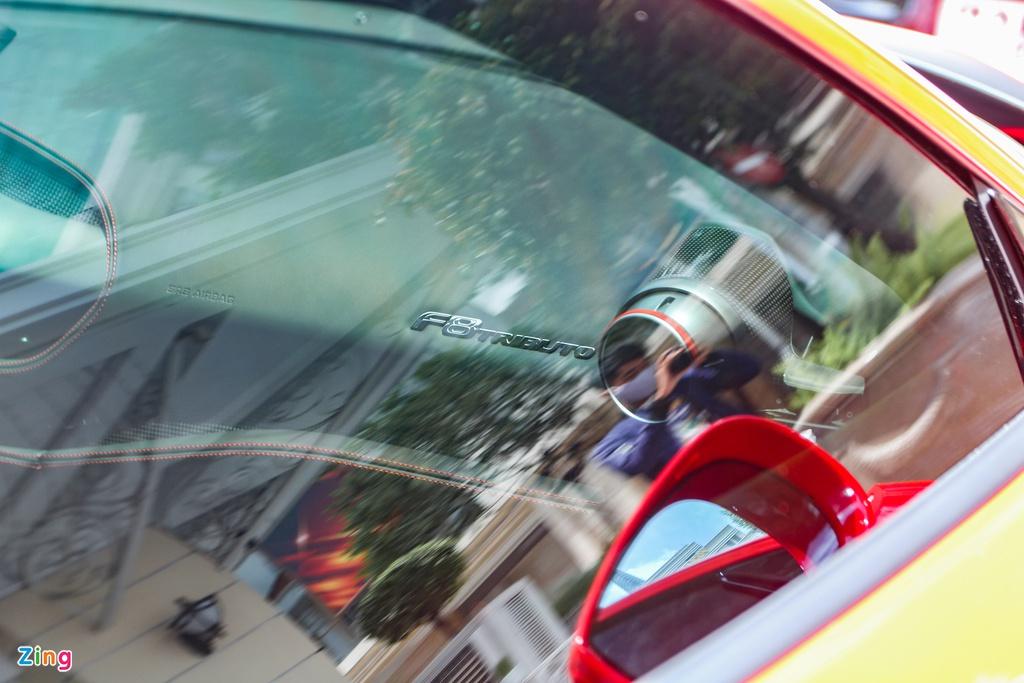 Chi tiết Ferrari F8 Tributo đầu tiên Việt Nam của Cường Đô La