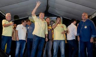 Fernando Pergentino realiza eventos políticos em Sairé
