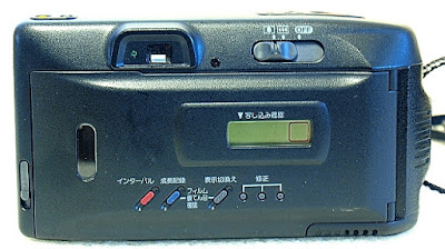 Canon Autoboy Tele 6, Back