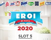 """Concorso """"Eroi di Casa 2020 Slot 5"""" : vinci buoni carburante e carte spesa"""