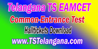 Telangana TS EAMCET TSEAMCET 2017 Halltickets Download
