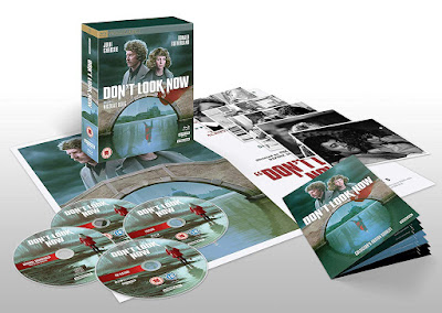 Studiocanal's Collector's Edition of DON'T LOOK NOW comes with all you see here!
