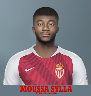 PES 2019 Faces Moussa Sylla by Jarray & The White Demon