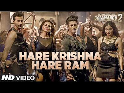 Hare Krishna Hare Ram Lyrics| Commando 2 |  Raftaar,  Armaan Malik