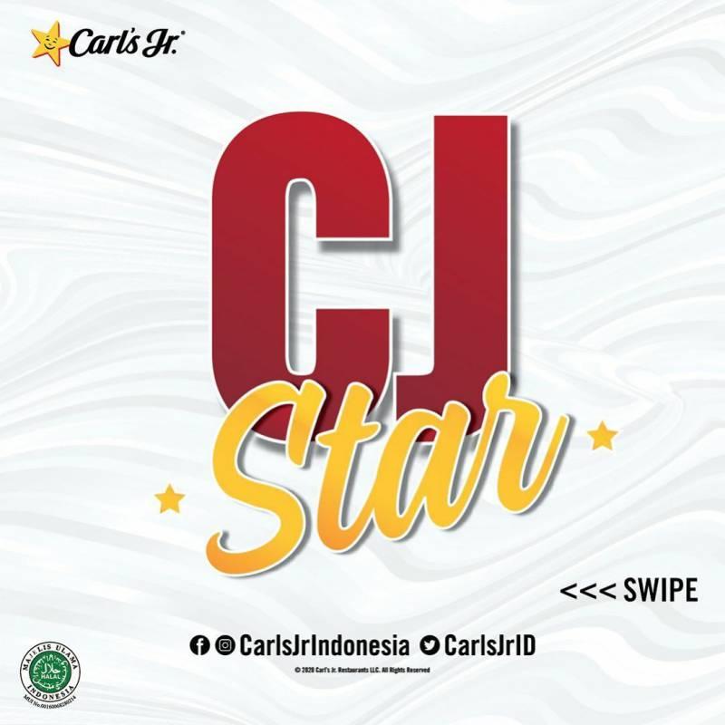 Promo Carls Jr Paket CJ Star Hemat 30% Khusus Pemesanan Via GRABFOOD