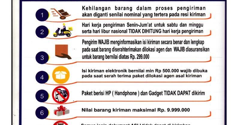 agen resmi wahana prestasi logistik syarat ketentuan pengiriman