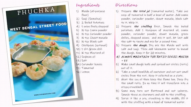 Phuchka recipe doibedouin