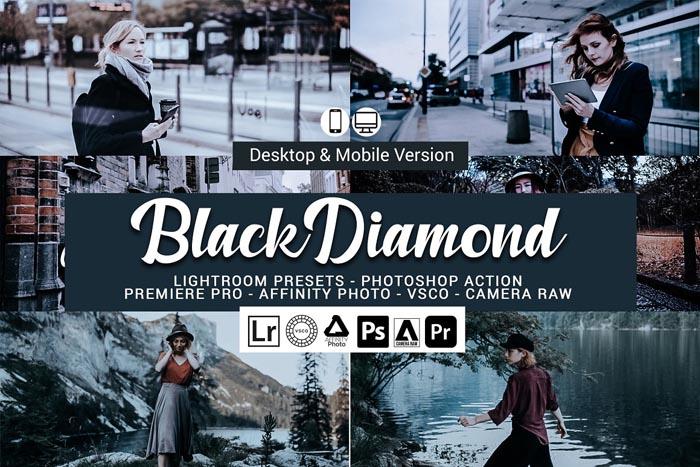 CreativeMarket – Black Diamond Lightroom Presets
