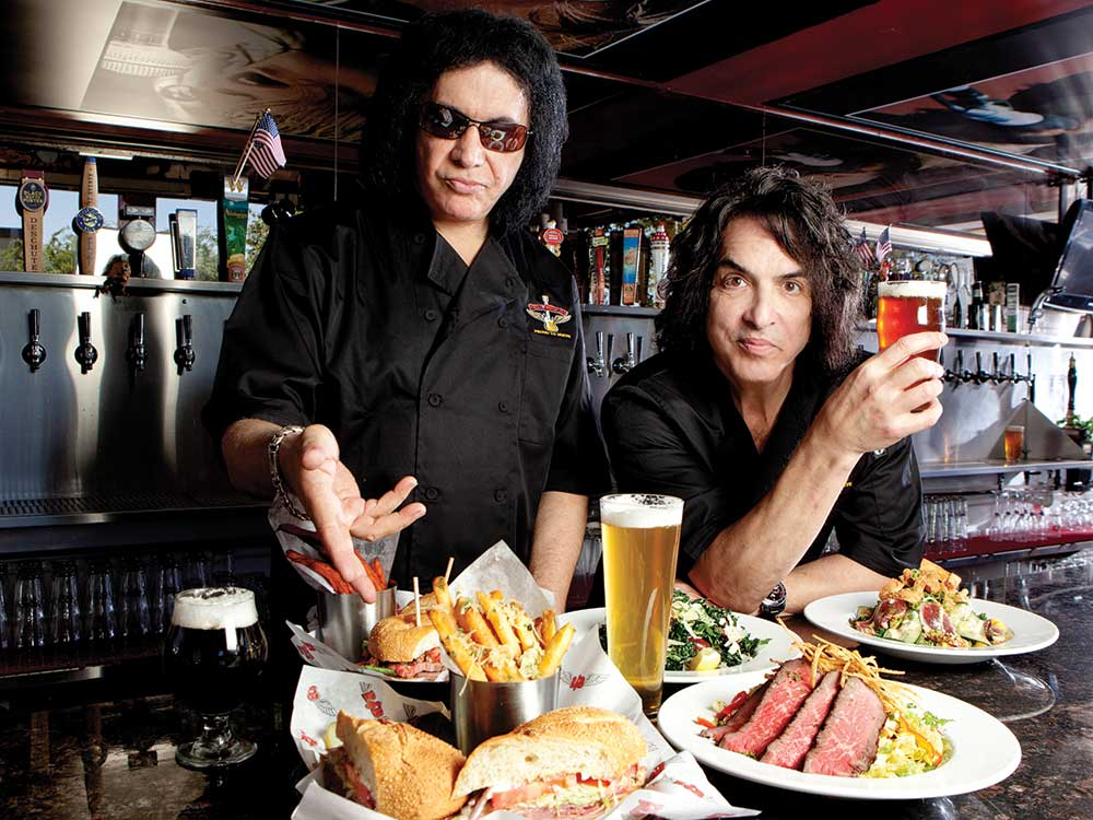 KISS Rock Stars are Becoming Food Stars