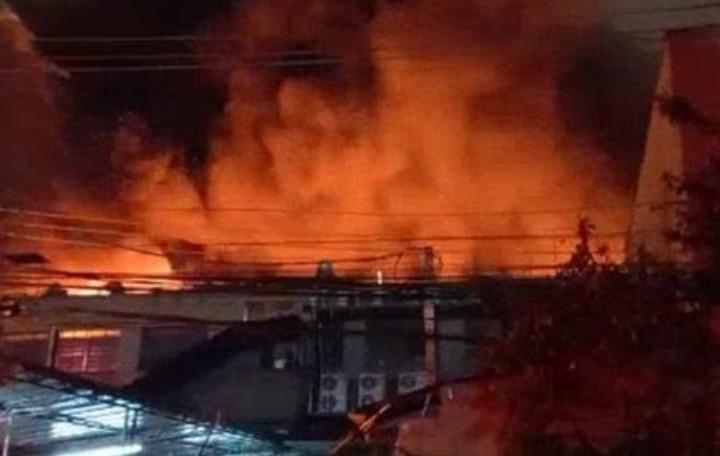 Incêndio na Barra funda Zona Oeste São Paulo