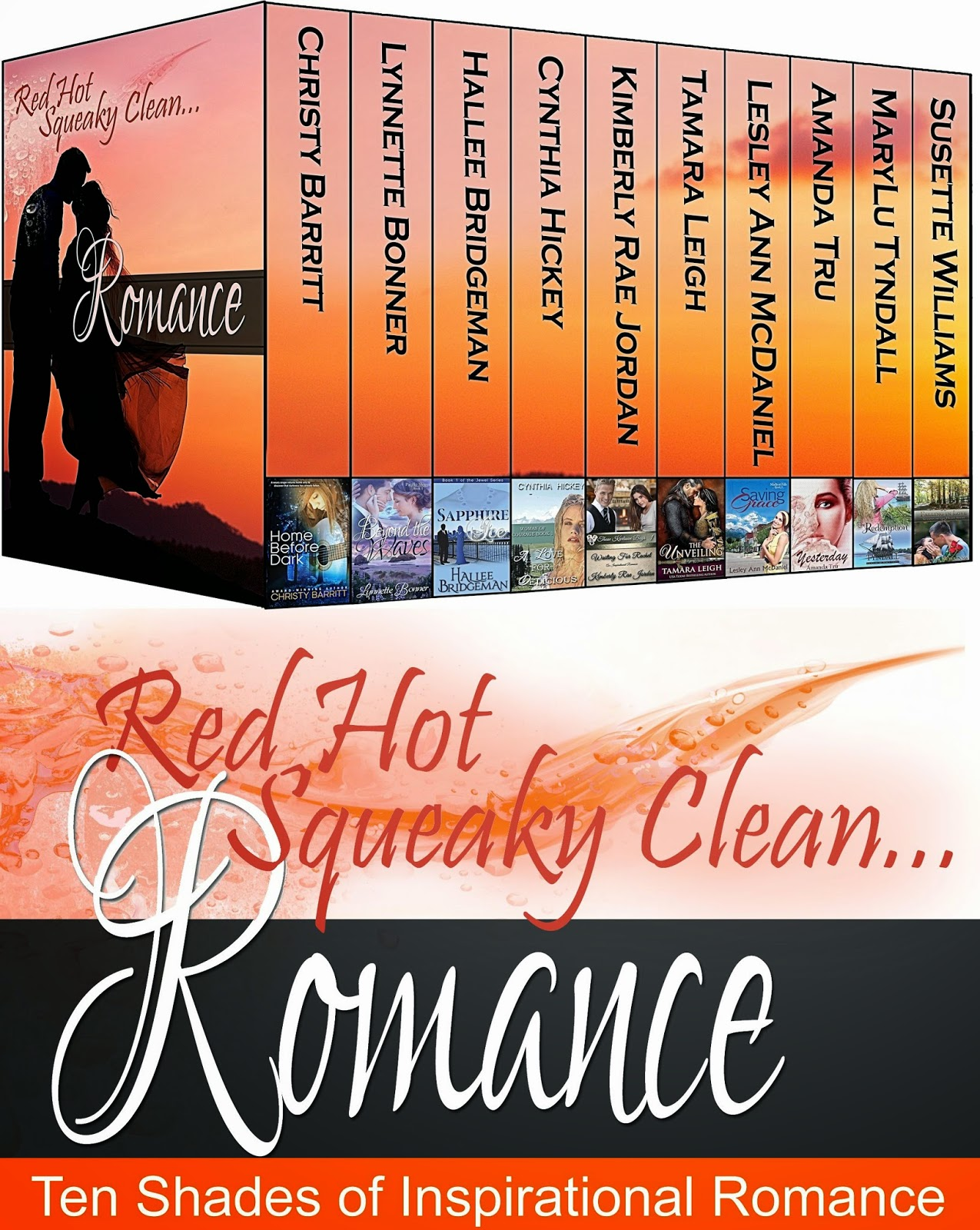 http://www.amazon.com/Squeaky-Clean-ROMANCE-collection-Boxed-ebook/dp/B00NDGSOUQ/ref=sr_1_7?ie=UTF8&qid=1414698982&sr=8-7&keywords=marylu+tyndall