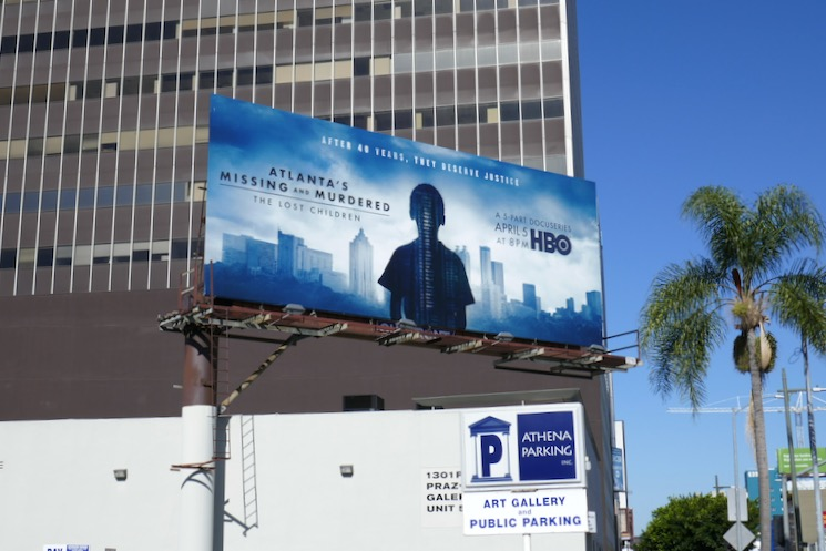 Atlantas Missing Murdered Lost Children billboard