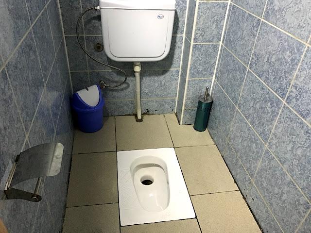 トルクメニスタンの首都アシュガバードのトイレ