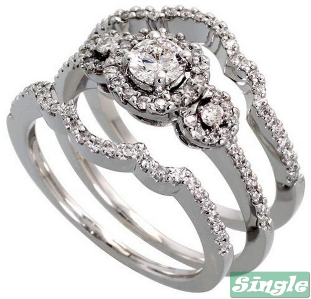 White Gold Wedding Rings Cheap, White Gold Wedding Rings For Him And Her