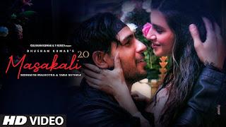 Masakali 2.0 song lyrics in Hindi Sidharth Malhotra Tara Sutaria