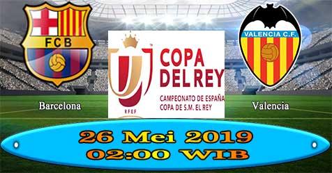 Prediksi Bola855 Barcelona vs Valencia 26 Mei 2019