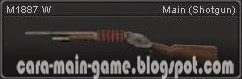 M 1887 W Point Blank PB Weapon