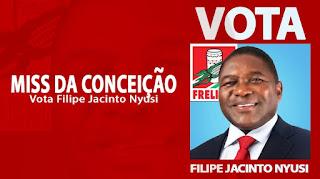 Miss Da Conceição -  Vota Filipe Jacinto Nyusi