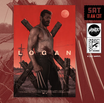 San Diego Comic-Con 2021 Exclusive X-Men Logan Screen Print by Rory Kurtz x Akiko Stehrenberger x Mondo x Marvel