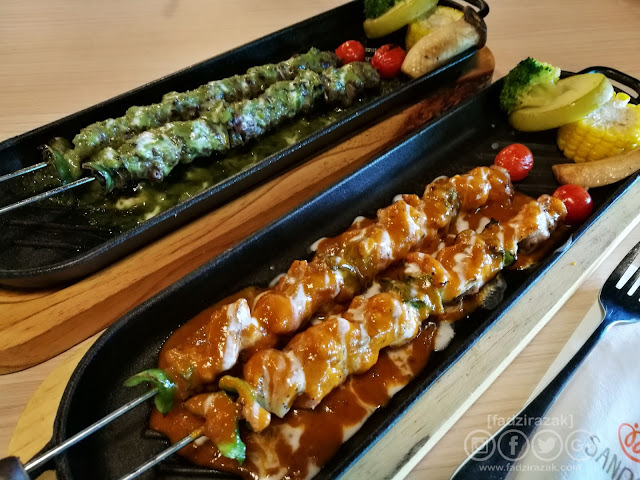 Beef & Chicken Skewers