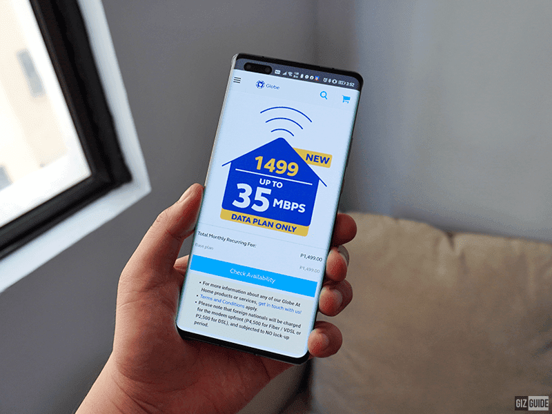 Globe At Home improves Unli Plans, starts PHP 1,499 for up to 35 Mbps of speed