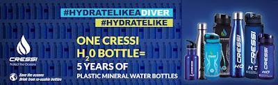 Óvd a tengereket, igyál újrahasznosjtható üvegekből!