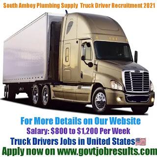 South Amboy Plumbing Supply Truck Driver Recruitment 2021-22