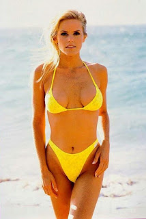 Cale Hulses Wife Gena Lee Nolin From Her Swimsuit Days