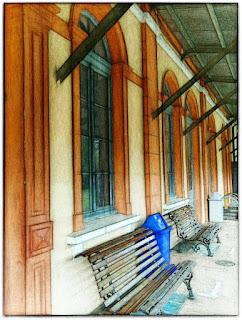 Interior da Antiga Estação Ferroviária - Estação Cultura, Montenegro