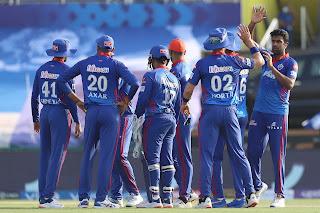 DC vs RR 36th Match IPL 2021 Highlights