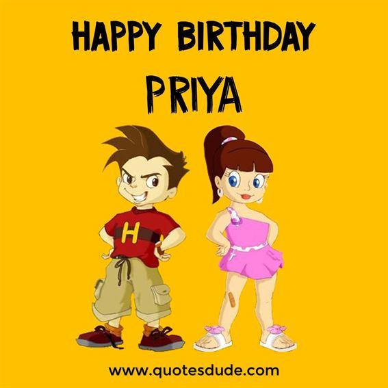 Happy Birthday Priya