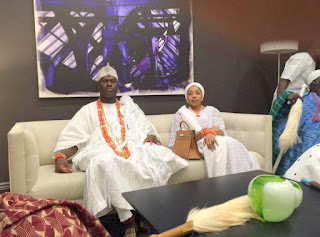 Ooni of Ife, Oba Adeyeye Ogunwusi in New York