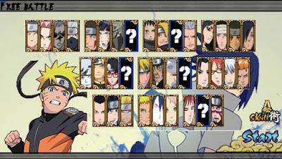 Naruto Senki MOD NSUNS Overkill v1 Full Characters Android Apk Terbaru