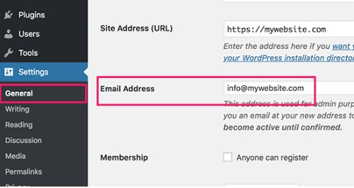 Email Address Verification