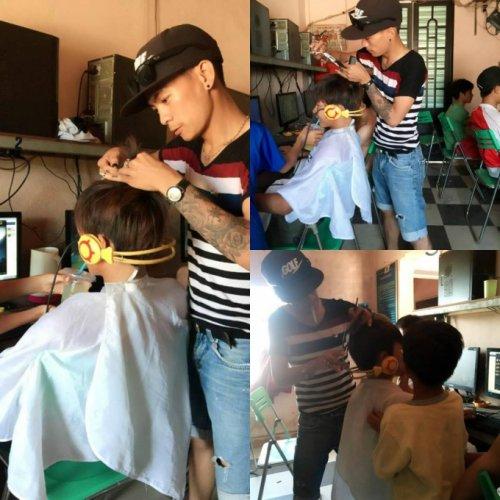 Sợ rớt rank 'trẻ trâu Việt' thuê thợ hớt tóc phục vụ tận nơi