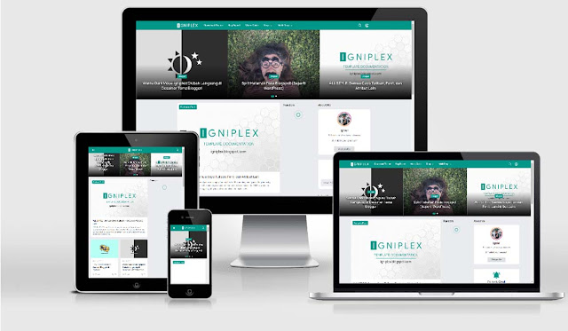Igniplex 2.6 - Premium Blogger Template Miễn Phí