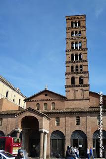 santa maria cosmedin bocca verita guia brasileira roma - Via del Teatro Marcello - 2500 anos de arquitetura