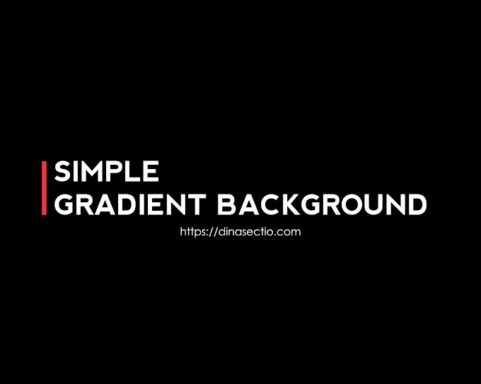 Tutorial Gradient Background Menggunakan Adobe Photoshop CS5