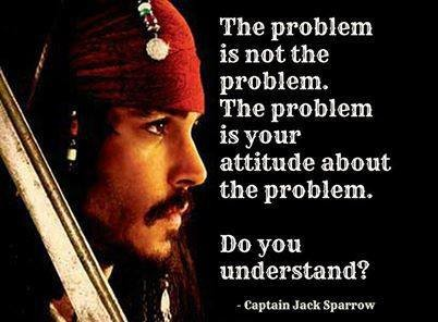 Jack Sparrow quotes about the problem