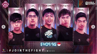 Roster Evos SG M2