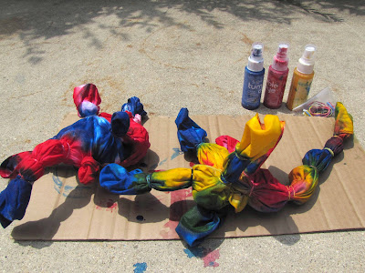 fun summer tie dye project for kids