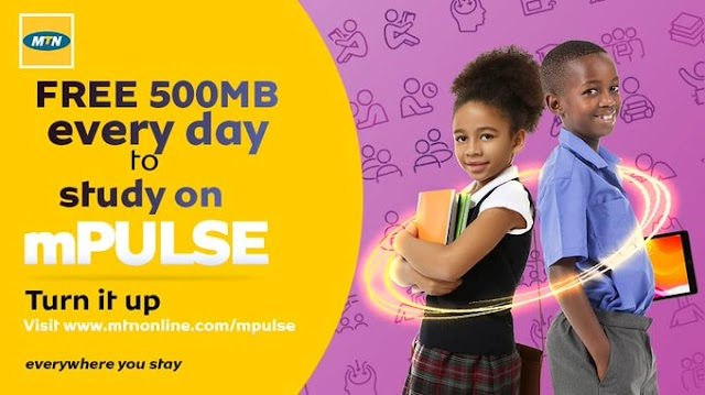 MTN Giving Mpulse Free 500MB Daily (See How to Activate)
