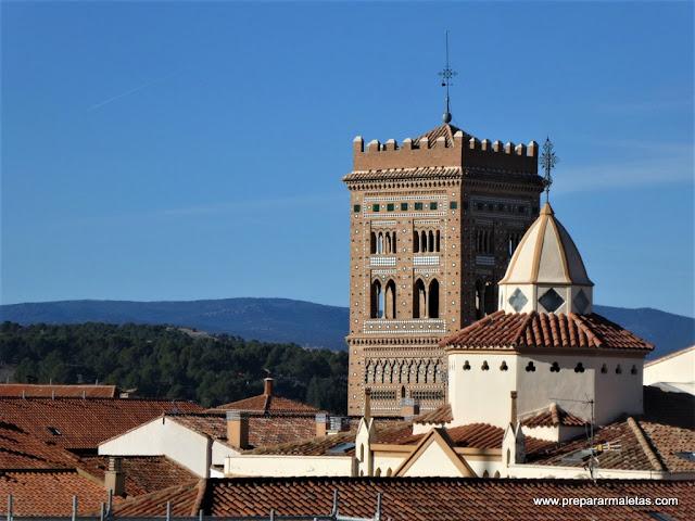 Teruel desde las alturas