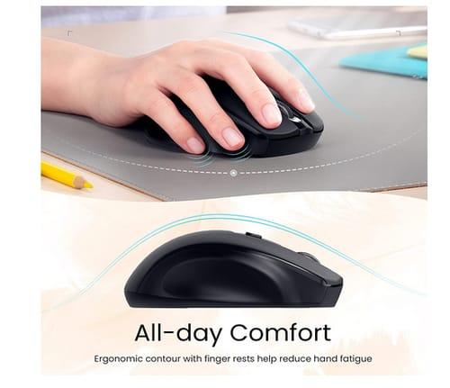 PONVIT 2.4G Ergonomic Computer Wireless Mouse