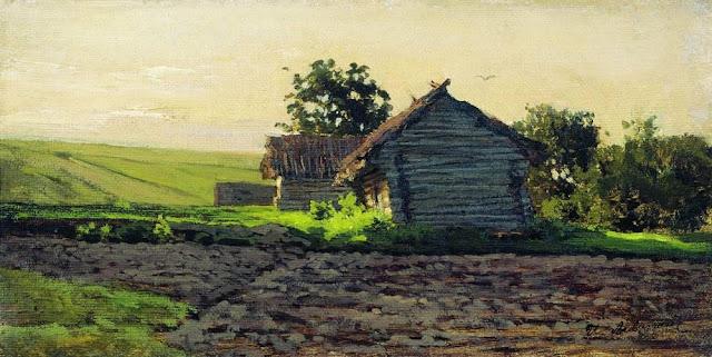 Исаак Ильич Левитан - Саввинская слобода. 1884