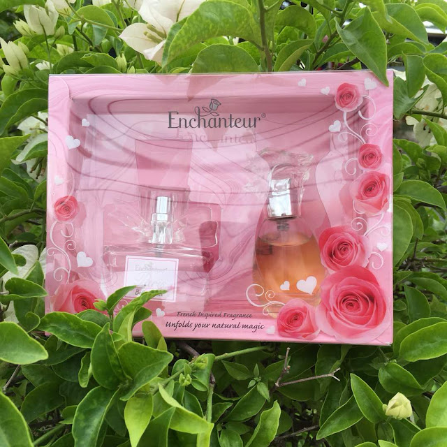 Set Hadiah ENCHANTEUR dengan wangian penuh keindahan