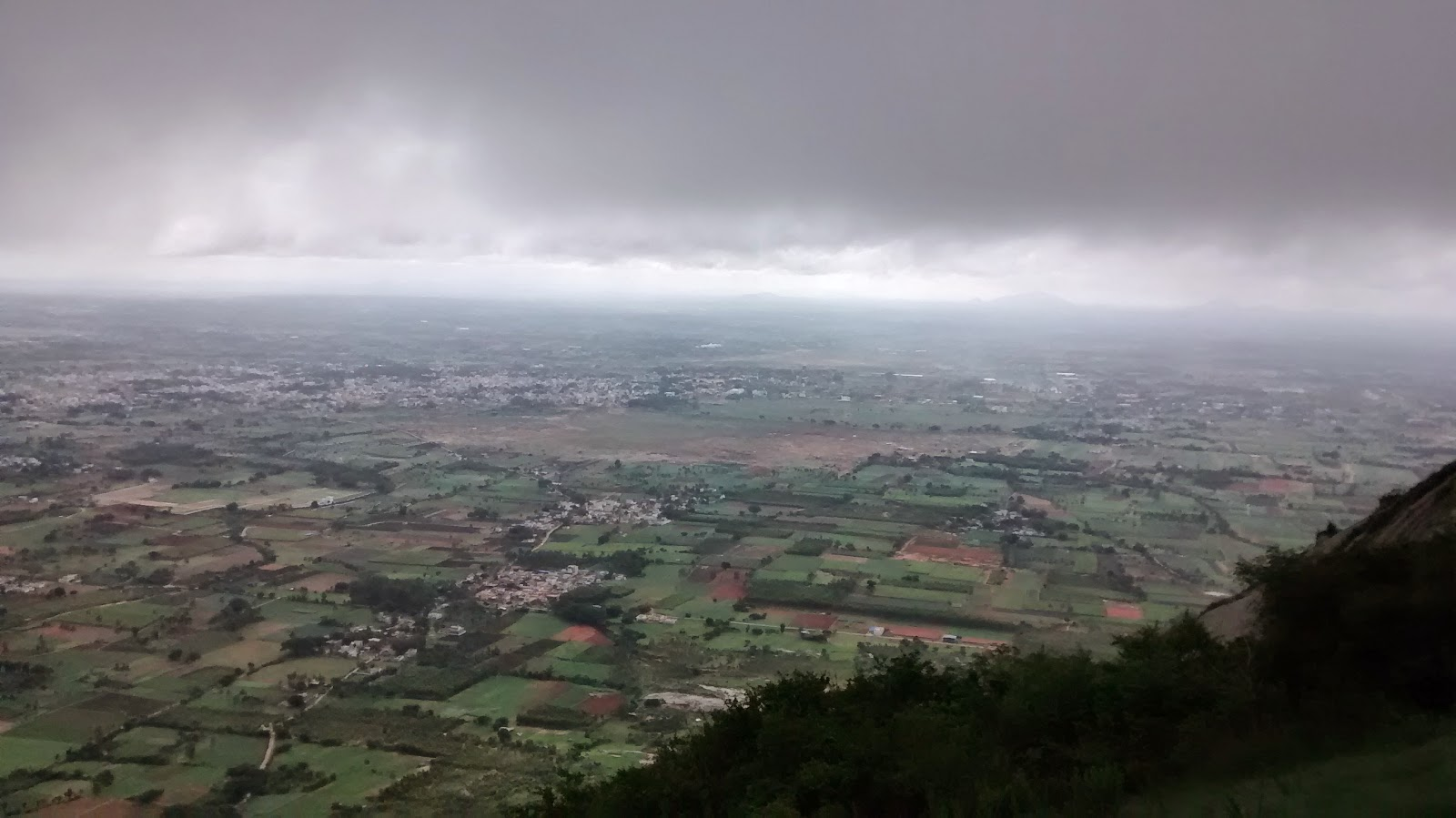I am The King of This City @Skandagiri Hills