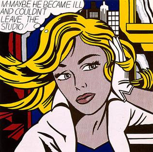 m-maybe by roy Lichtenstein