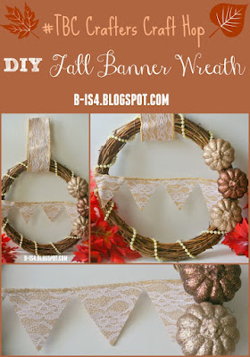 Fall banner Wreath