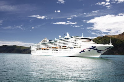 P&O Cruises Australia - Announces Hull Art for Newly Acquired Pacific Explorer - ex Dawn Princess